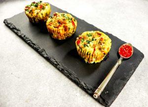 Italian Florentine Egg Muffins