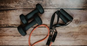 Workout equipment for an at home full body workout