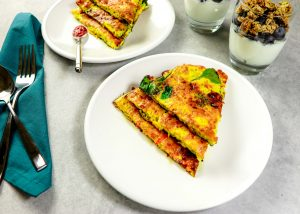 Spinach and Pepper Frittata
