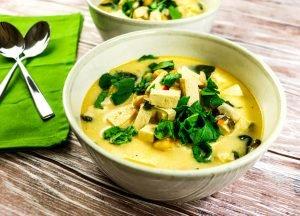 Chickpea Spinach Stew