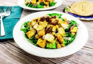 Vegan Mediterranean Bowl