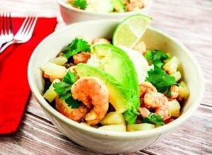 Lime Shrimp Bowl